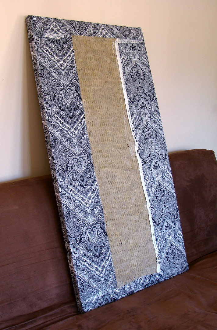 Fabric Sound Panels : How to build your own acoustic panels diy