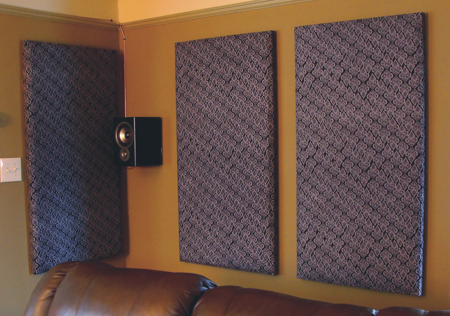 How to build your own acoustic panels diy Soundproofing for walls interior