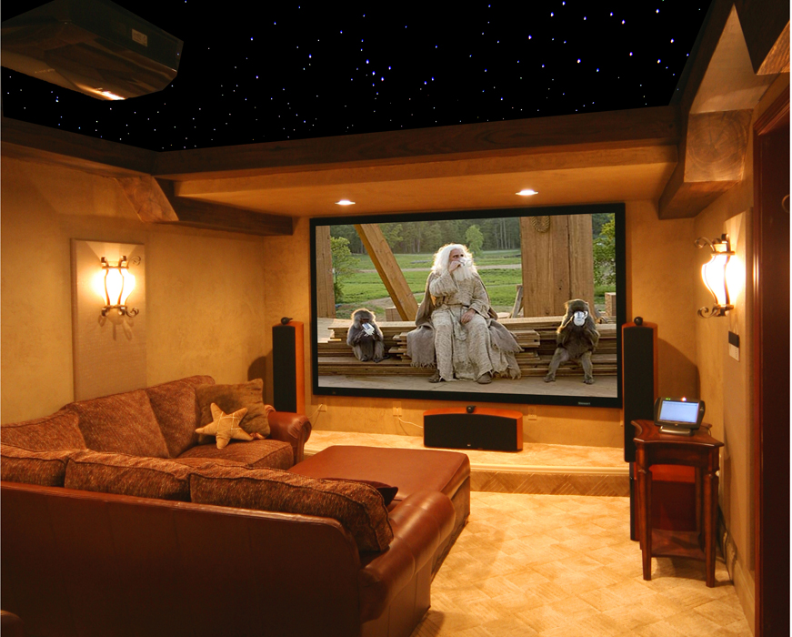 Home theater surround sound speaker placement Design your own tv room
