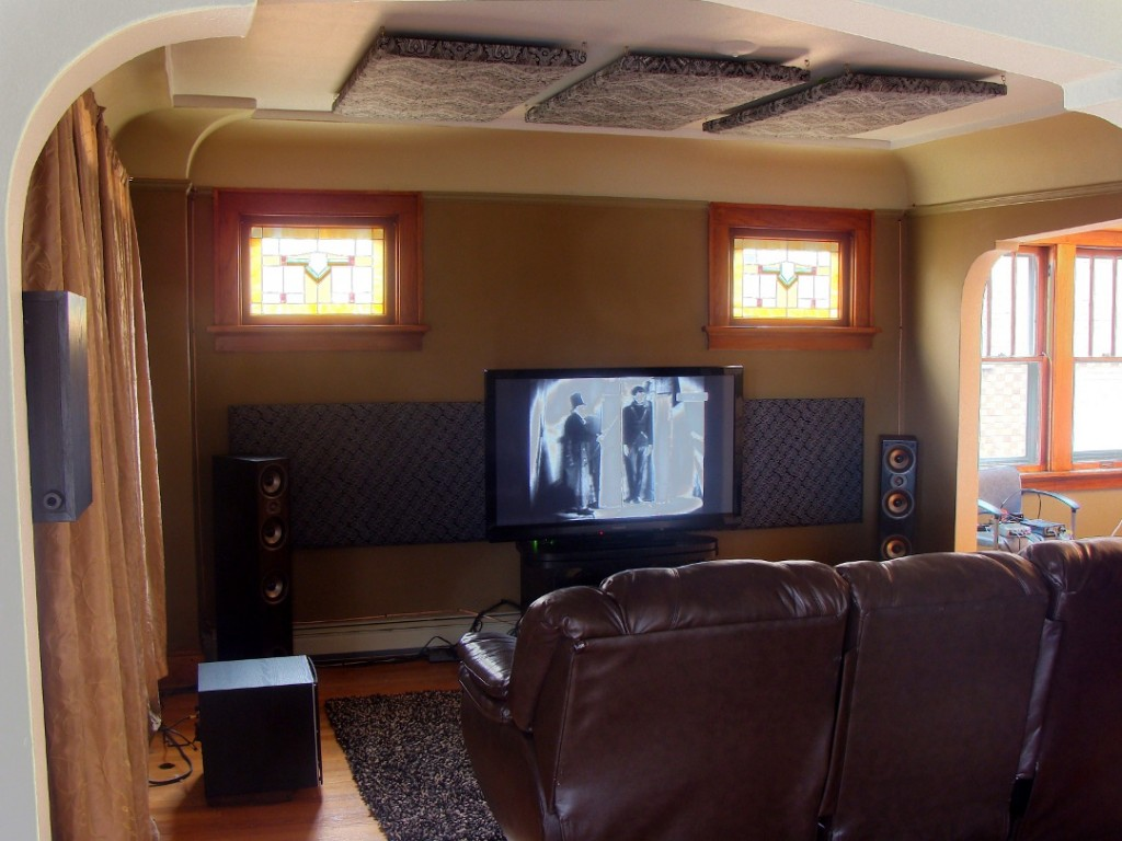Where To Place Acoustic Treatment In A Home Theater