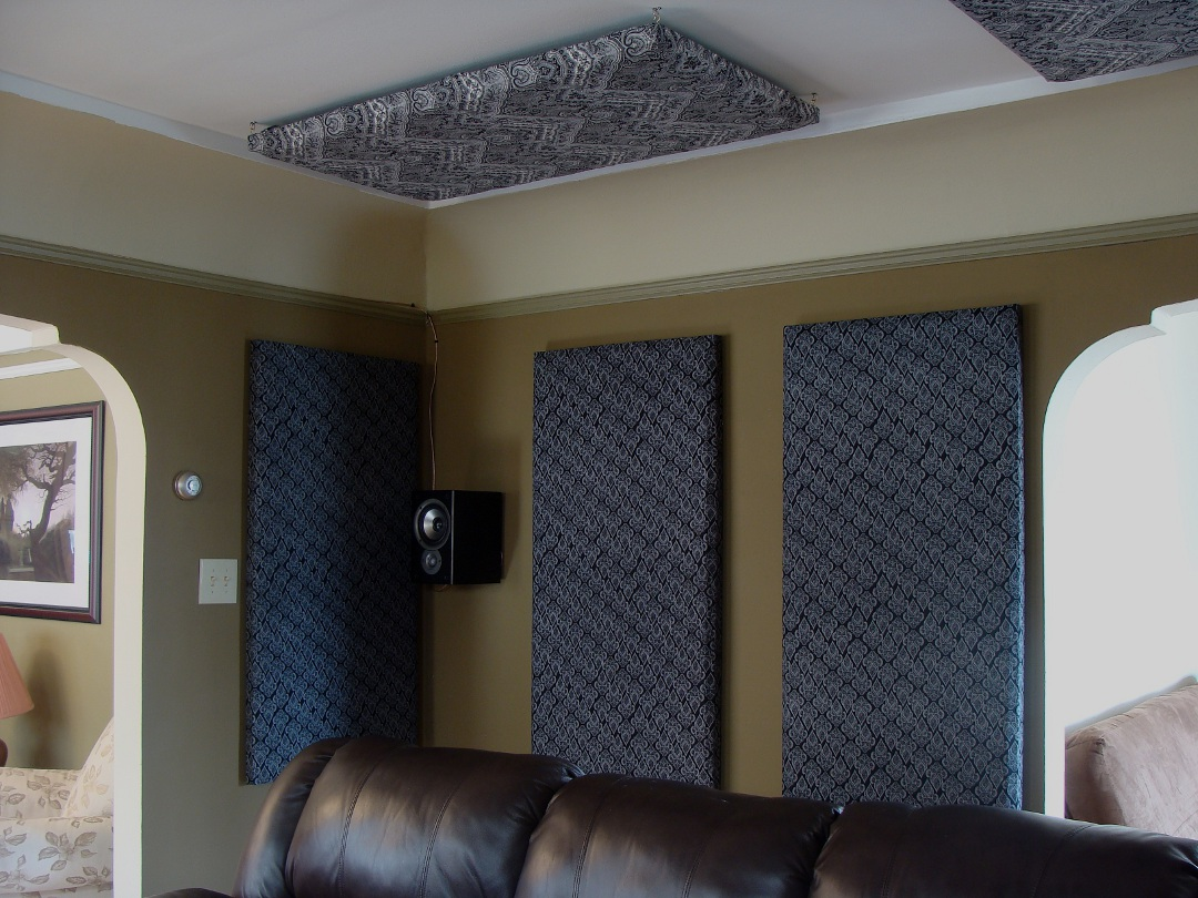 Home Theater Wall Panels how to build your own acoustic panels (diy)